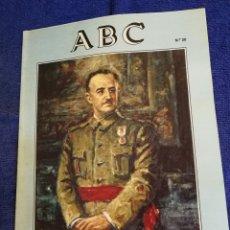 Coleccionismo de Los Domingos de ABC: FASCICULO ABC VIDA DE FRANCO NUMERO 20. Lote 194275370