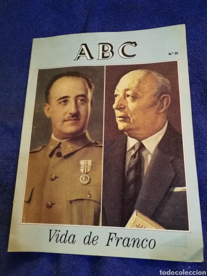 FASCICULO ABC VIDA DE FRANCO NUMERO 25 (Coleccionismo - Revistas y Periódicos Modernos (a partir de 1.940) - Los Domingos de ABC)