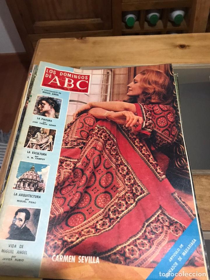 Coleccionismo de Los Domingos de ABC: Los domingos de ABC - Foto 4 - 194509357