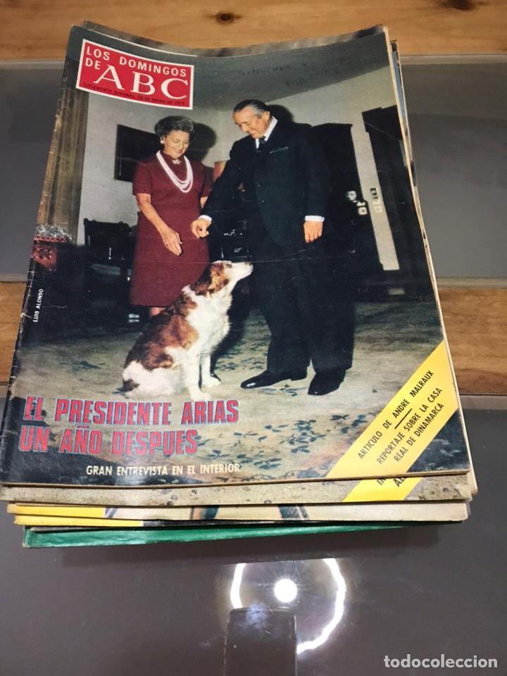 LOS DOMINGOS DE ABC (Coleccionismo - Revistas y Periódicos Modernos (a partir de 1.940) - Los Domingos de ABC)