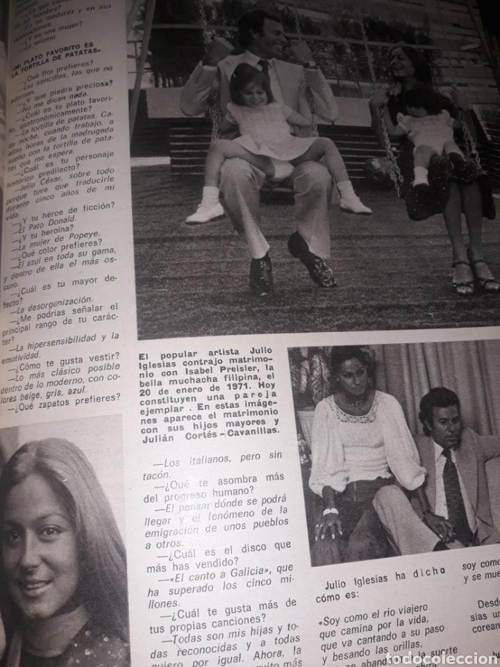 Coleccionismo de Los Domingos de ABC: JULIO IGLESIAS , EL CANTOR AL QUE ACOMPAÑA UN ÁNGEL. 4 PAGINAS . AÑO 1975 - Foto 4 - 194528385