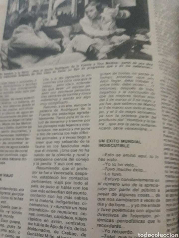 Coleccionismo de Los Domingos de ABC: ENTREVISTA A FELIX RODRÍGUEZ DE LA FUENTE. TICO MEDINA AÑO 1975 . 4 PAGINAS - Foto 3 - 194530110