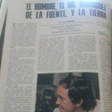 Coleccionismo de Los Domingos de ABC: ENTREVISTA A FELIX RODRÍGUEZ DE LA FUENTE. TICO MEDINA AÑO 1975 . 4 PAGINAS. Lote 194530110