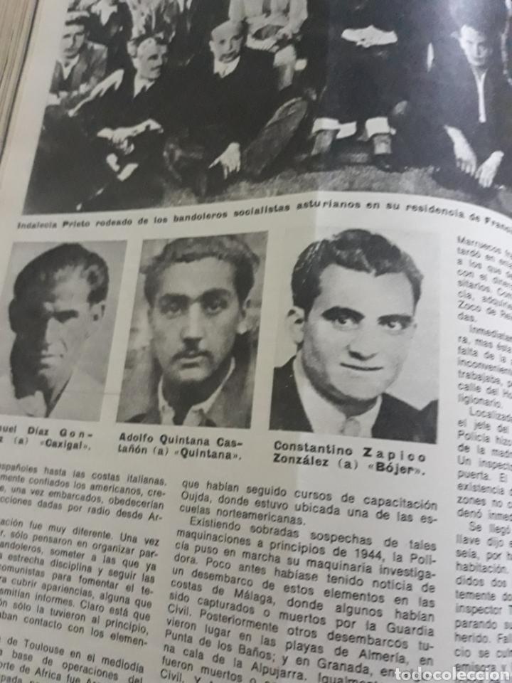 Coleccionismo de Los Domingos de ABC: LA GUERRA DESCONOCIDA CONTRA LOS MAQUIS . DOCUMENTO PERIODÍSTICO DE 5 PAGINAS AÑO 1975 - Foto 3 - 194533425