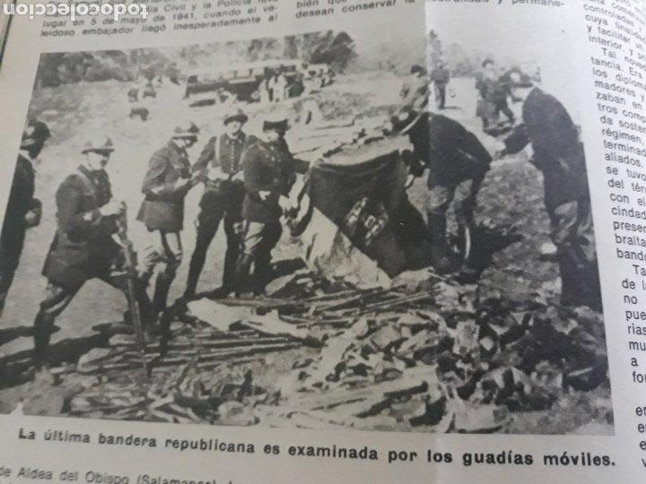 Coleccionismo de Los Domingos de ABC: LA GUERRA DESCONOCIDA CONTRA LOS MAQUIS . DOCUMENTO PERIODÍSTICO DE 5 PAGINAS AÑO 1975 - Foto 4 - 194533425