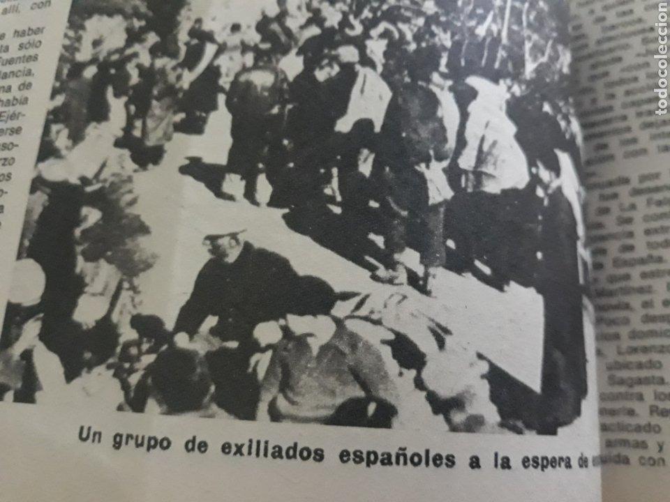 Coleccionismo de Los Domingos de ABC: LA GUERRA DESCONOCIDA CONTRA LOS MAQUIS . DOCUMENTO PERIODÍSTICO DE 5 PAGINAS AÑO 1975 - Foto 5 - 194533425