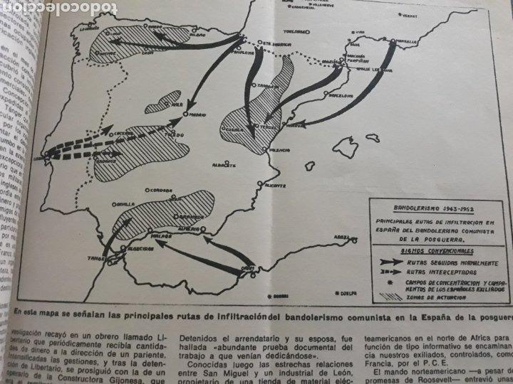Coleccionismo de Los Domingos de ABC: LA GUERRA DESCONOCIDA CONTRA LOS MAQUIS . DOCUMENTO PERIODÍSTICO DE 5 PAGINAS AÑO 1975 - Foto 6 - 194533425