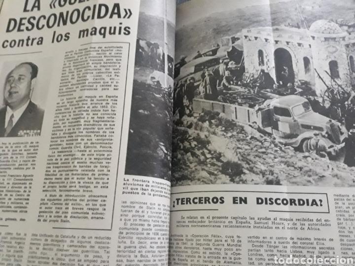 LA GUERRA DESCONOCIDA CONTRA LOS MAQUIS . DOCUMENTO PERIODÍSTICO DE 5 PAGINAS AÑO 1975 (Coleccionismo - Revistas y Periódicos Modernos (a partir de 1.940) - Los Domingos de ABC)