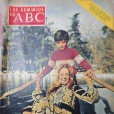 Coleccionismo de Los Domingos de ABC: CARMEN SEVILLA REVISTA LOS DOMINGOS DE ABC 2 DE ENERO 1972. Lote 194535963