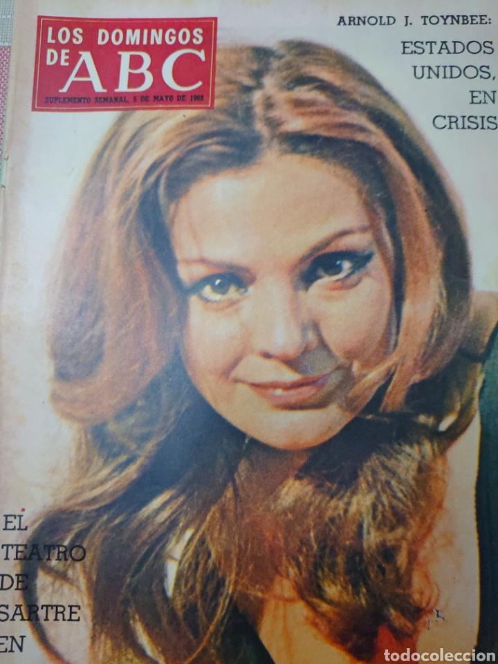 CARMEN SEVILLA REVISTA LOS DOMINGOS DE ABC MAYO 1958 (Coleccionismo - Revistas y Periódicos Modernos (a partir de 1.940) - Los Domingos de ABC)