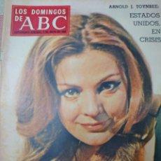 Coleccionismo de Los Domingos de ABC: CARMEN SEVILLA REVISTA LOS DOMINGOS DE ABC MAYO 1958. Lote 194536260