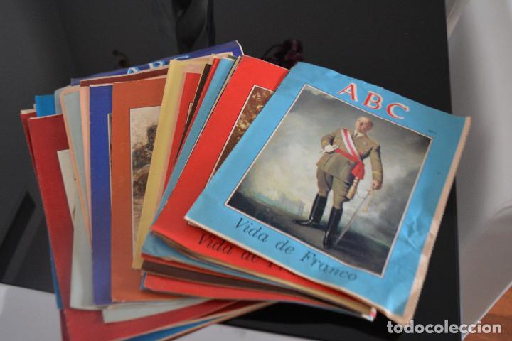 COLECCIONES ABC,LA VIDA DE FRANCO.MIRA LA LISTA DE FASCICULOS QUE TENGO (Coleccionismo - Revistas y Periódicos Modernos (a partir de 1.940) - Los Domingos de ABC)