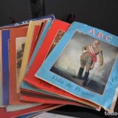 Coleccionismo de Los Domingos de ABC: COLECCIONES ABC,LA VIDA DE FRANCO.MIRA LA LISTA DE FASCICULOS QUE TENGO. Lote 194596200
