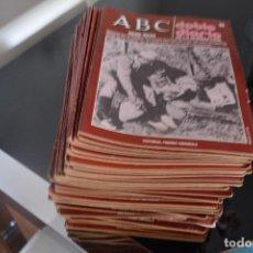 Coleccionismo de Los Domingos de ABC: COLECCIONES ABC,DOBLE DIARIO DE LA GUERRA CIVIL.1936-39.MIRA LA LISTA DE FASCICULOS QUE TENGO. Lote 194597706