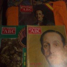 Coleccionismo de Los Domingos de ABC: LOTE COMPUESTO POR 3REVISTAS LOS DOMINGOS DE ABC 1976-190-1986. Lote 194722583