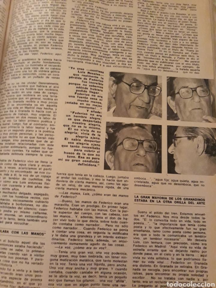 Coleccionismo de Los Domingos de ABC: INTRODUCCIÓN A LA MUERTE DE FEDERICO GARCÍA LORCA. LUIS ROSALES . TICO MEDINA . AÑO 1972. 5 PAGINAS - Foto 3 - 194989301