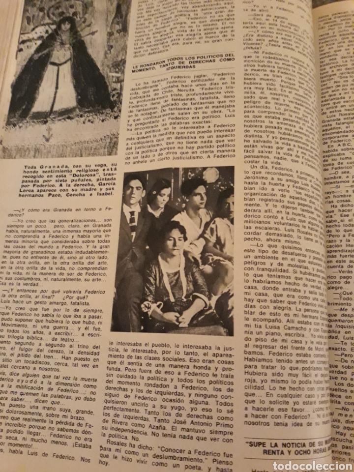 Coleccionismo de Los Domingos de ABC: INTRODUCCIÓN A LA MUERTE DE FEDERICO GARCÍA LORCA. LUIS ROSALES . TICO MEDINA . AÑO 1972. 5 PAGINAS - Foto 4 - 194989301