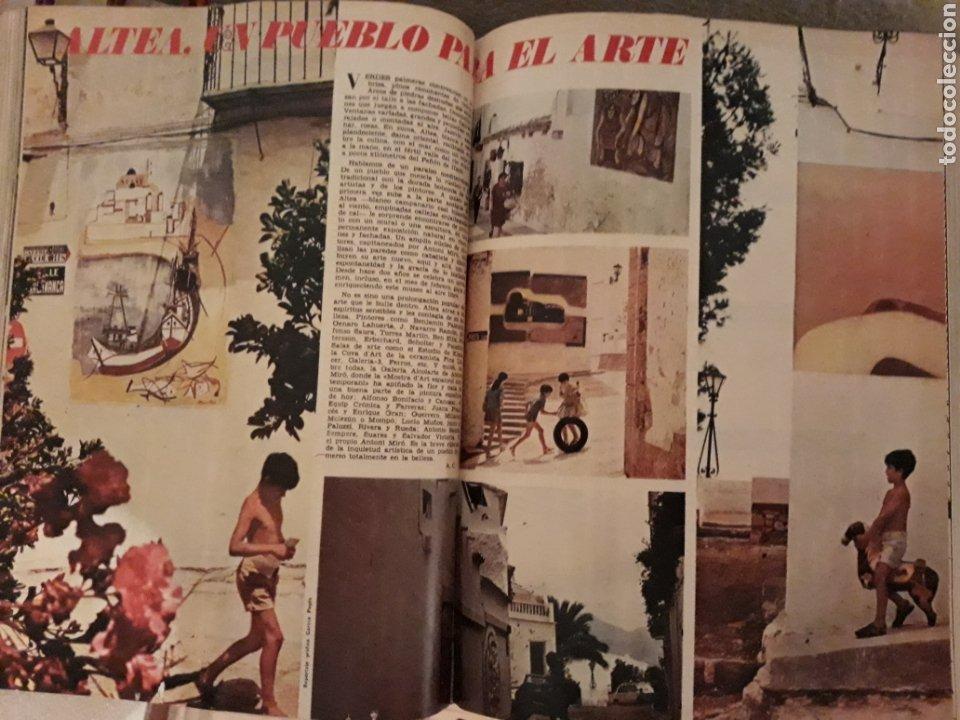 ALTEA , ALICANTE. UN PUEBLO PARA EL ARTE . DOS PAGINAS . AÑO 1972 (Coleccionismo - Revistas y Periódicos Modernos (a partir de 1.940) - Los Domingos de ABC)