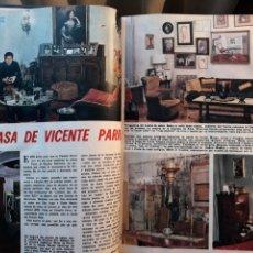 Coleccionismo de Los Domingos de ABC: DECORACION .EN CASA DE VICENTE PARRA . DOS PAGINAS AÑO 1970. Lote 195292520