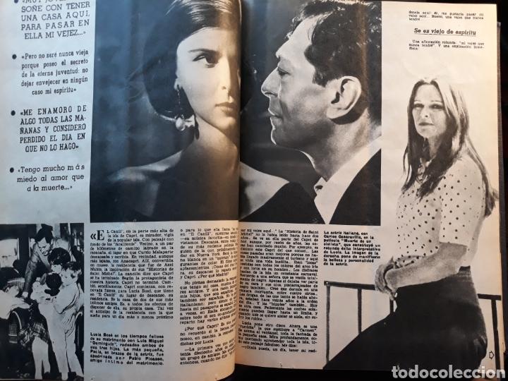 Coleccionismo de Los Domingos de ABC: LUCIA BOSE ,EN CAPRI . 7 PAGINAS AÑO 1970 . - Foto 2 - 195297246