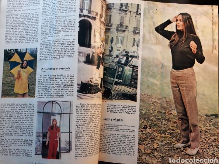 Coleccionismo de Los Domingos de ABC: LUCIA BOSE ,EN CAPRI . 7 PAGINAS AÑO 1970 . - Foto 3 - 195297246