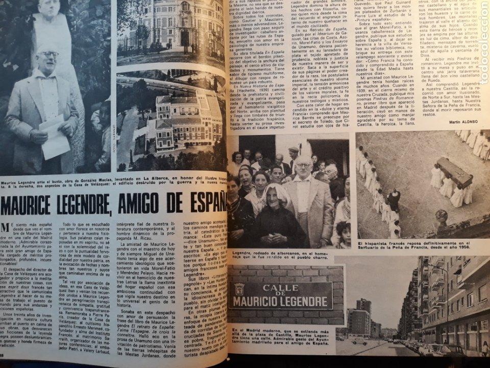 MAURICE LEGENDRE , AMIGO DE ESPAÑA. ARTICULO DE DOS PÁGINAS AÑO 1975 (Coleccionismo - Revistas y Periódicos Modernos (a partir de 1.940) - Los Domingos de ABC)
