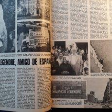 Coleccionismo de Los Domingos de ABC: MAURICE LEGENDRE , AMIGO DE ESPAÑA. ARTICULO DE DOS PÁGINAS AÑO 1975. Lote 195376672