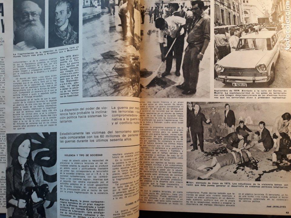Coleccionismo de Los Domingos de ABC: LA DIALECTICA DE LA DINAMITA Y LA GUERRA POR AGENTES . ARTÍCULO DE 1975 . 4 PÁGINAS. - Foto 2 - 195377835