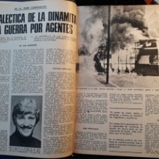 Coleccionismo de Los Domingos de ABC: LA DIALECTICA DE LA DINAMITA Y LA GUERRA POR AGENTES . ARTÍCULO DE 1975 . 4 PÁGINAS.. Lote 195377835