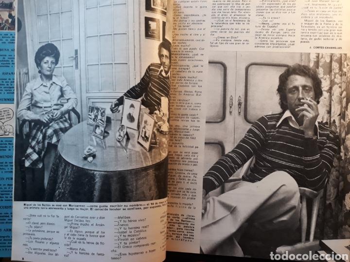 Coleccionismo de Los Domingos de ABC: MIGUEL DE LOS SANTOS. ENTREVISTA 4 PAGINAS AÑO 1975 - Foto 2 - 195379953
