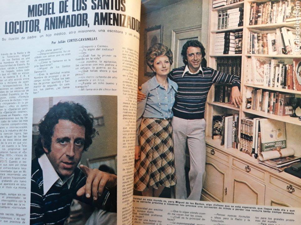 MIGUEL DE LOS SANTOS. ENTREVISTA 4 PAGINAS AÑO 1975 (Coleccionismo - Revistas y Periódicos Modernos (a partir de 1.940) - Los Domingos de ABC)