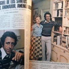 Coleccionismo de Los Domingos de ABC: MIGUEL DE LOS SANTOS. ENTREVISTA 4 PAGINAS AÑO 1975. Lote 195379953