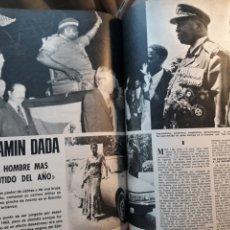 Coleccionismo de Los Domingos de ABC: IDI AMIN DADA . REPORTAJE DEL AÑO 1975 .5 PÁGINAS. Lote 195383933