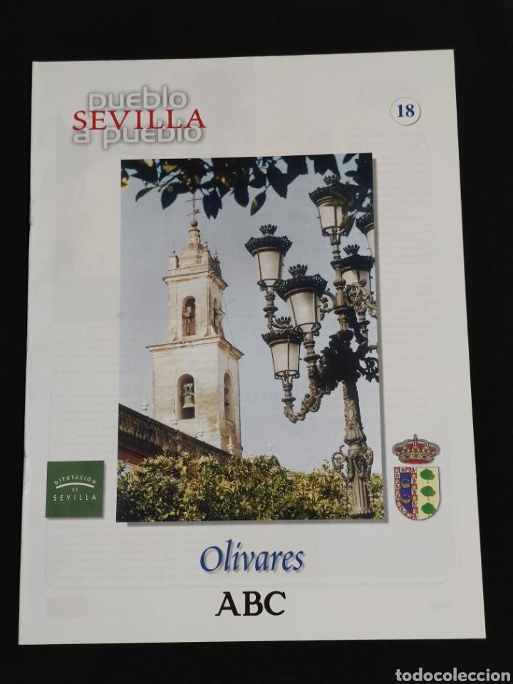 SEVILLA PUEBLO A PUEBLO,N° 18,A.B.C.,AÑO 1998,OLIVARES,OSUNA,LOS PALACIOS Y VILLAFRANCA,.... (Coleccionismo - Revistas y Periódicos Modernos (a partir de 1.940) - Los Domingos de ABC)