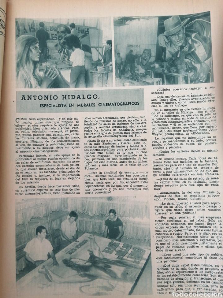 Coleccionismo de Los Domingos de ABC: PERIODICO ABC EDICION ESPECIAL DEDICADA AL CINE 1967.CINES DE SEVILLA. CÓRDOBA. ETC VER - Foto 9 - 151166242