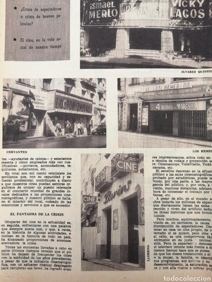 Coleccionismo de Los Domingos de ABC: PERIODICO ABC EDICION ESPECIAL DEDICADA AL CINE 1967.CINES DE SEVILLA. CÓRDOBA. ETC VER - Foto 10 - 151166242