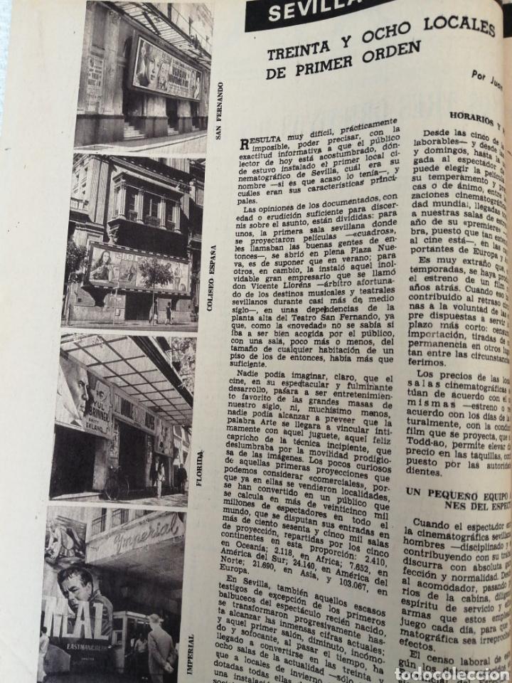 Coleccionismo de Los Domingos de ABC: PERIODICO ABC EDICION ESPECIAL DEDICADA AL CINE 1967.CINES DE SEVILLA. CÓRDOBA. ETC VER - Foto 11 - 151166242