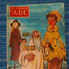 Coleccionismo de Los Domingos de ABC: VENDO ABC (LOS DOMINGOS DE ABC), SUPLEMENTO SEMANAL, 27/12/1970 (VER MAS FOTOS).. Lote 196562385