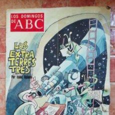Coleccionismo de Los Domingos de ABC: ANTIGUA REVISTA LOS DOMINGOS DE ABC - SUPLEMENTO SEMANAL 30 ABRIL 1978 EXTRATERRESTRES ISAAC ASIMOV. Lote 198015272