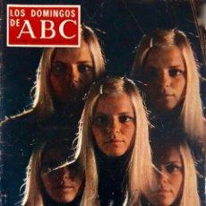 Collectionnisme de Los Domingos de ABC: ABC.OCTUBRE 1970.FRANCE GALL.GOYA.SALOME... REVISTA. Lote 198086278