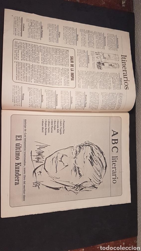 Coleccionismo de Los Domingos de ABC: ABC CULTURAL. NUMERO 120. 18 DE FEBRERO 1994. Willem de Kooning, escritor Milan Kundera - Foto 3 - 198112866
