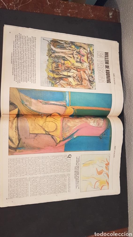 Coleccionismo de Los Domingos de ABC: ABC CULTURAL. NUMERO 120. 18 DE FEBRERO 1994. Willem de Kooning, escritor Milan Kundera - Foto 4 - 198112866