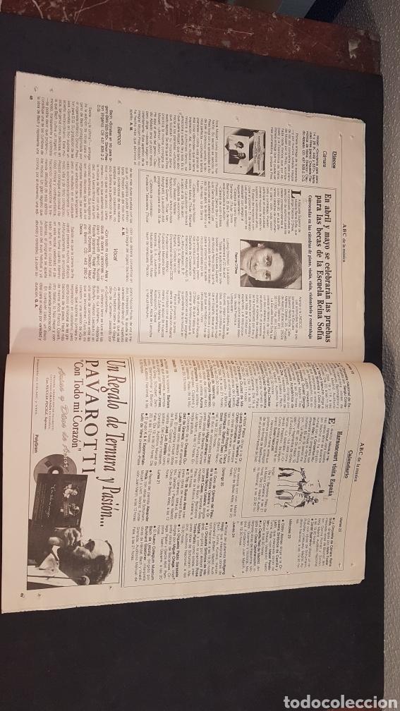 Coleccionismo de Los Domingos de ABC: ABC CULTURAL. NUMERO 120. 18 DE FEBRERO 1994. Willem de Kooning, escritor Milan Kundera - Foto 6 - 198112866