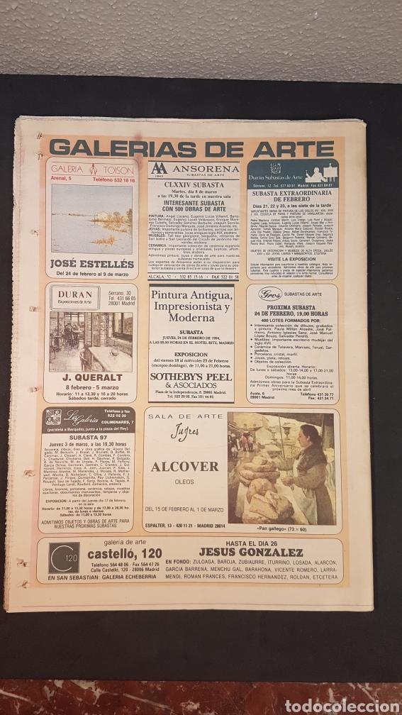 Coleccionismo de Los Domingos de ABC: ABC CULTURAL. NUMERO 120. 18 DE FEBRERO 1994. Willem de Kooning, escritor Milan Kundera - Foto 11 - 198112866