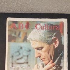 Coleccionismo de Los Domingos de ABC: ABC CULTURAL. NUMERO 120. 18 DE FEBRERO 1994. WILLEM DE KOONING, ESCRITOR MILAN KUNDERA. Lote 198112866