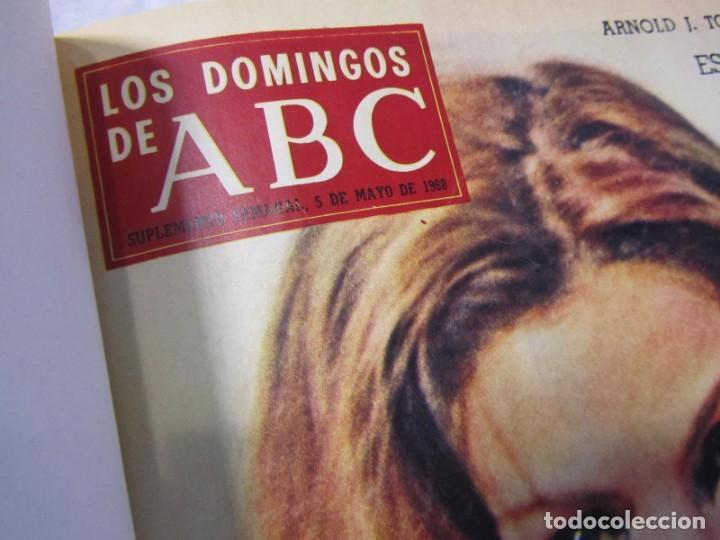 Coleccionismo de Los Domingos de ABC: 2 tomos encuadernados con 50 números de Los domingos de ABC, 1968, 1971, 1972 - Foto 8 - 198570228
