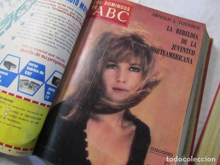 Coleccionismo de Los Domingos de ABC: 2 tomos encuadernados con 50 números de Los domingos de ABC, 1968, 1971, 1972 - Foto 9 - 198570228