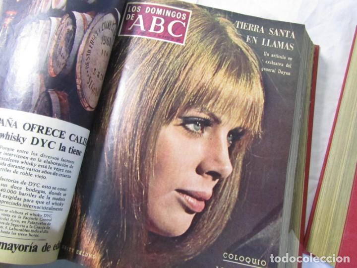 Coleccionismo de Los Domingos de ABC: 2 tomos encuadernados con 50 números de Los domingos de ABC, 1968, 1971, 1972 - Foto 10 - 198570228