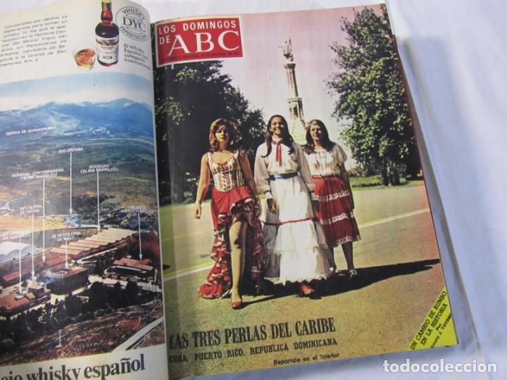 Coleccionismo de Los Domingos de ABC: 2 tomos encuadernados con 50 números de Los domingos de ABC, 1968, 1971, 1972 - Foto 15 - 198570228