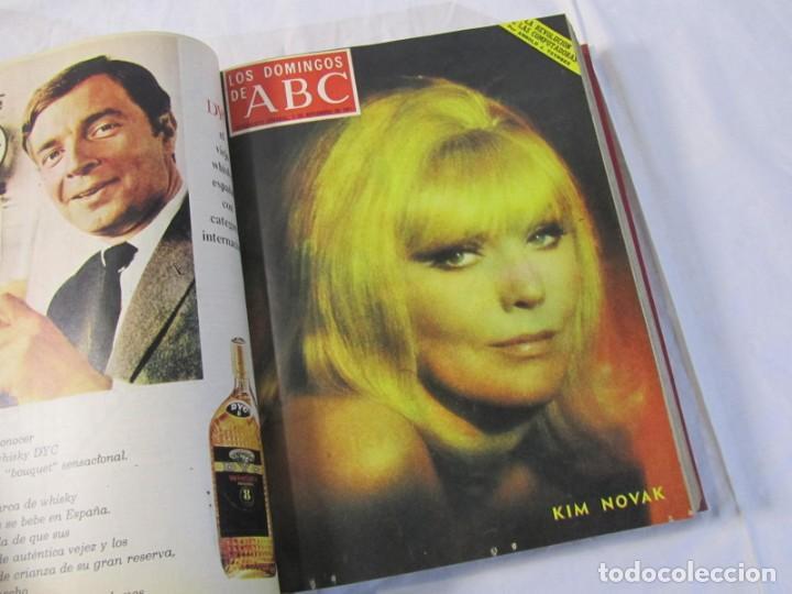 Coleccionismo de Los Domingos de ABC: 2 tomos encuadernados con 50 números de Los domingos de ABC, 1968, 1971, 1972 - Foto 16 - 198570228